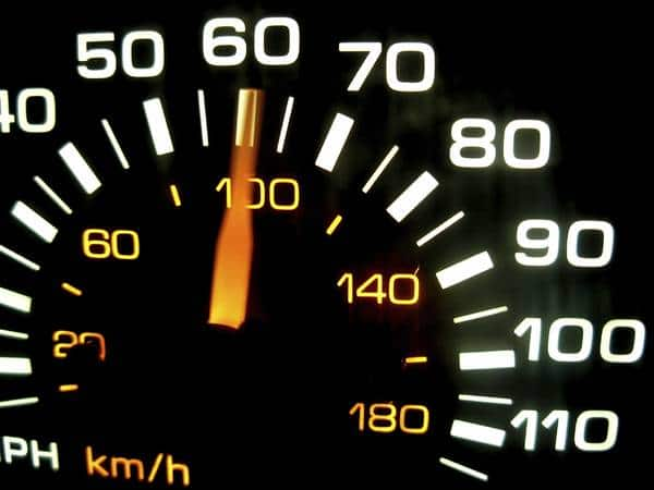 Speedometer (Photo: iStockPhoto)