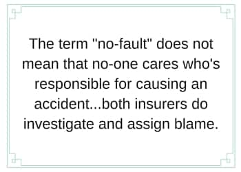 no fault responsible
