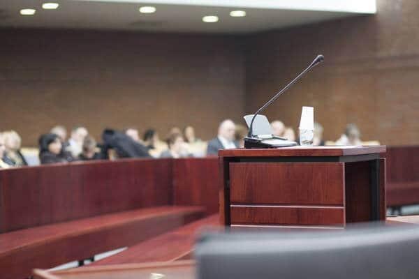 Courtroom (Photo: iStockPhoto)