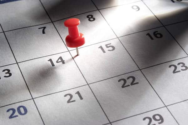 Calendar (Photo: iStockPhoto)