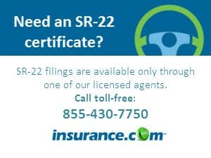 SR-22 insurance requirements