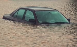 flash flood damage and car insurance coverage