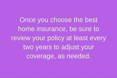 review home insurance