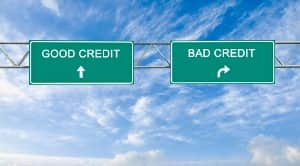 Good Credit, Bad Credit road signs
