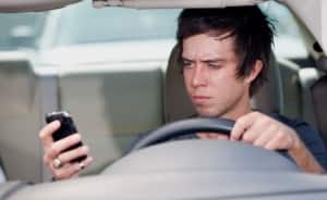 driver studies show texting is dangerous