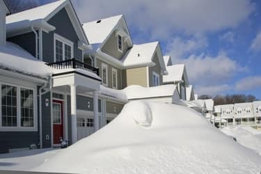 winter homeowner insurance claim