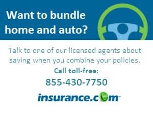 Home and auto insurance bundling