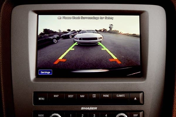 Rearview camera (Photo: Ford Motor)