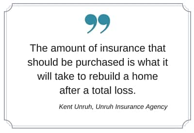 home insurance amount