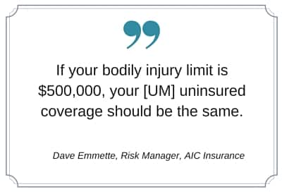 Uninsured And Underinsured Motorist Coverage Um Uim And Why You