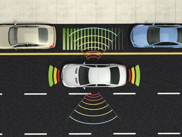 Park assist illustration (Photo: iStockPhoto)