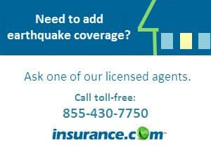 Earthquake insurance quotes