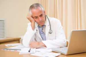 doctors unhappy with health care industry