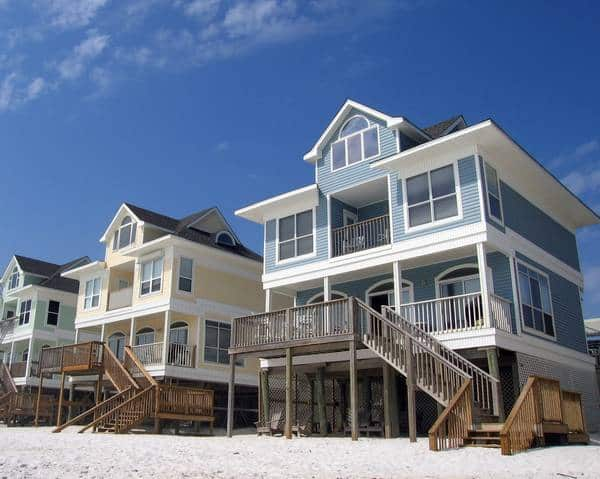 New beach homes