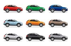 most popular car colors