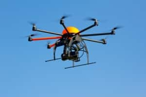 can a drone bust you for speeding?